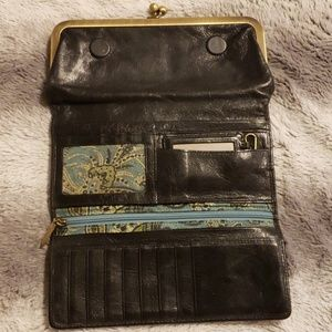 HOBO Bags - *SOLD*Hobo Wallet Tri Fold from Nordstrom w/mirror